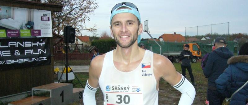 Videcký vyhrál Sršský maraton i půlmaraton