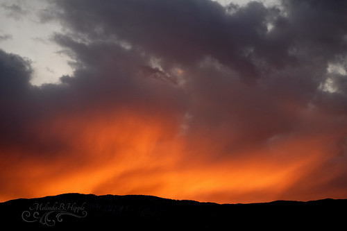 carbondale colorado rockies rockymountains landscape sky clouds sunset contrast