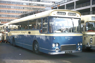 East Yorkshire Motor Services . 769 9769RH . Victoria Coach Station , London . August-1969 .
