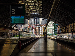 Bilbao-Abando Railway Station | by deepaqua