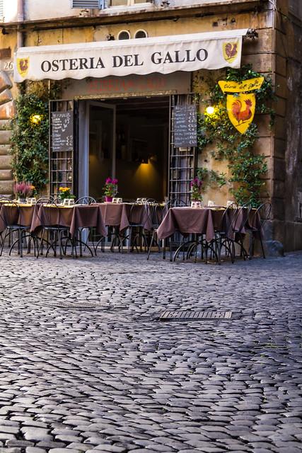 Italy - Rome - Vicolo degli Osti