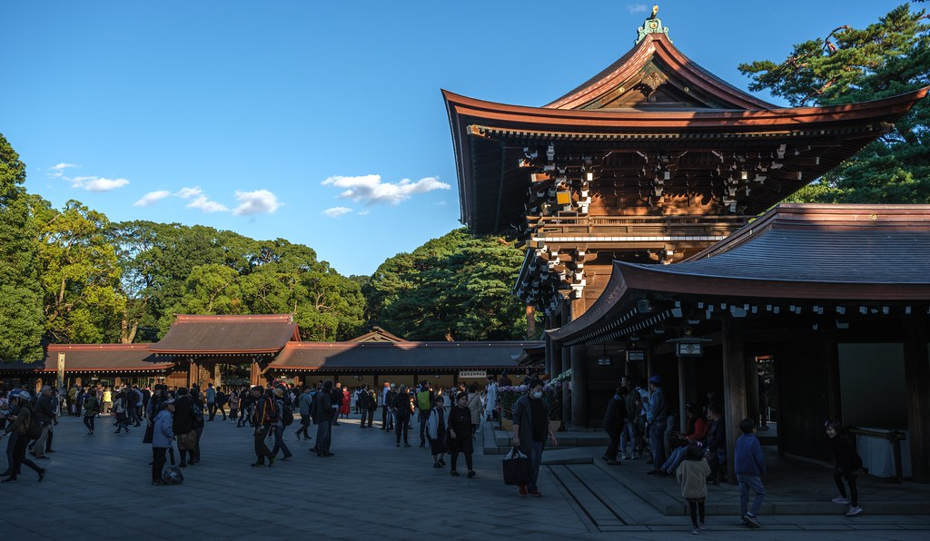 Meiji Shrine, Tokyo, 20191104