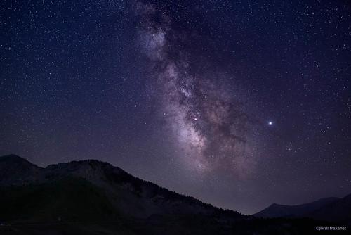 Via Láctea sobre Cotiella