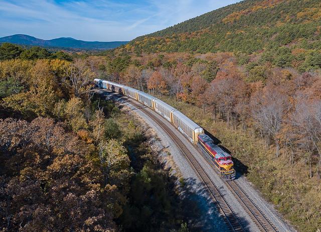 KCS 4191 (SD70ACe) Train:MQKCSH09 Page, Oklahoma