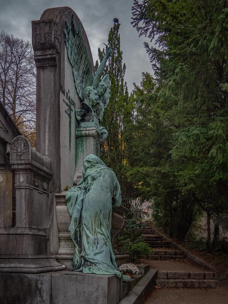 La tombe de Paul Baudry et sa Muse en pleurs... 49079860893_39f97c6714_b