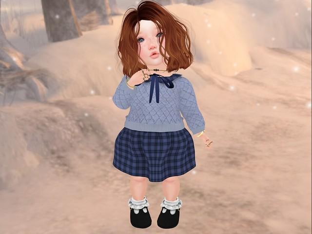 Uni Duni Baby Ivy Dress