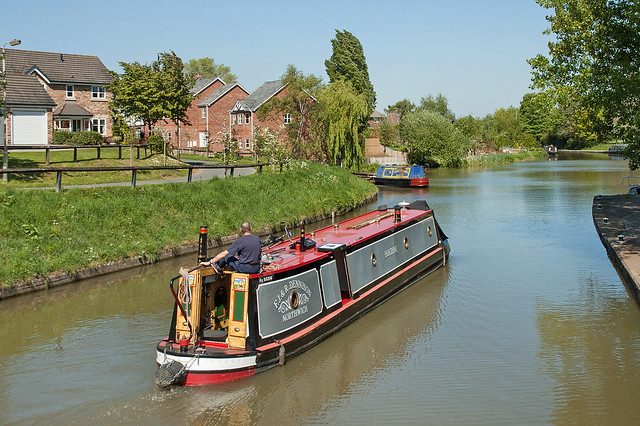 Trent and Mersey Canal, Anderton - 1 May 2007