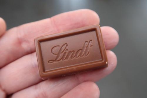 Mein kleines Stück Lindt Schokolade im Schokoladenmuseum