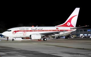 CDG | Tunisair 'retro livery' Boeing 737-600 | TS-IOP