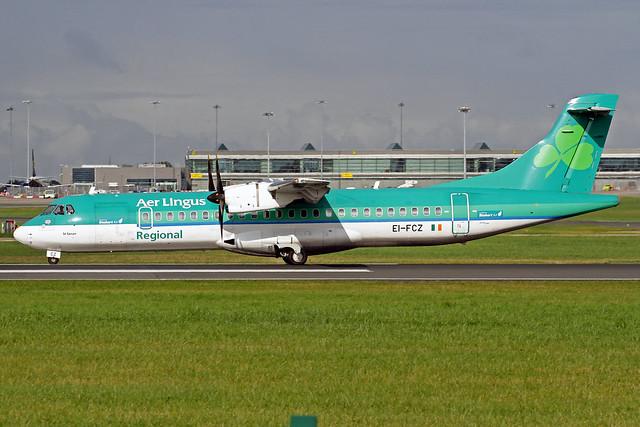 Aer Lingus Regional (Stobart Air) ATR 72-600 EI-FCZ