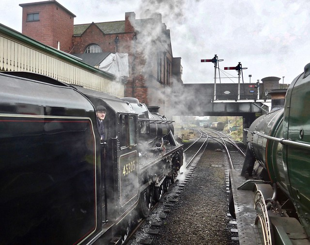 Great Central Railway Loughborough Leicestershire 17th November 2019