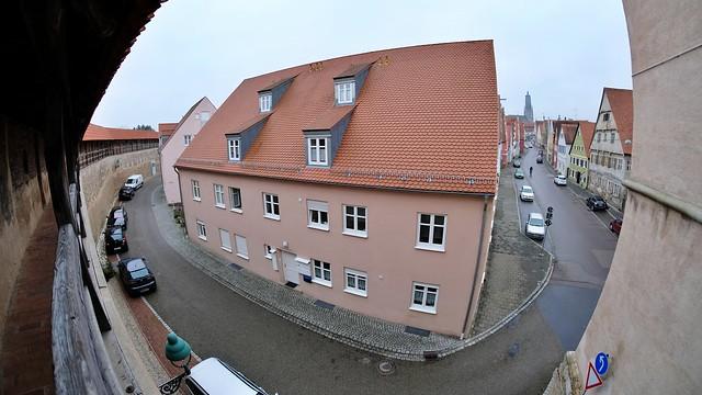 Fisheye Blick vom Löpsinger Tor