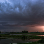 31. August 2019 - 20:54 - One that I published before on insta and FB, but not here on Flickr.  Speaking about lightning this was the best event in the Low Countries of 2019 for me. Instability was only moderate, but windshear quite strong for organized convection, so a nice line of storms developed with lots of cg's. (Other events of 2019, especially in June, had more lightning, but mainly cc and ic, which is less photogenic).  A very nice end of the summer-chase season. I almost can't wait till next season......