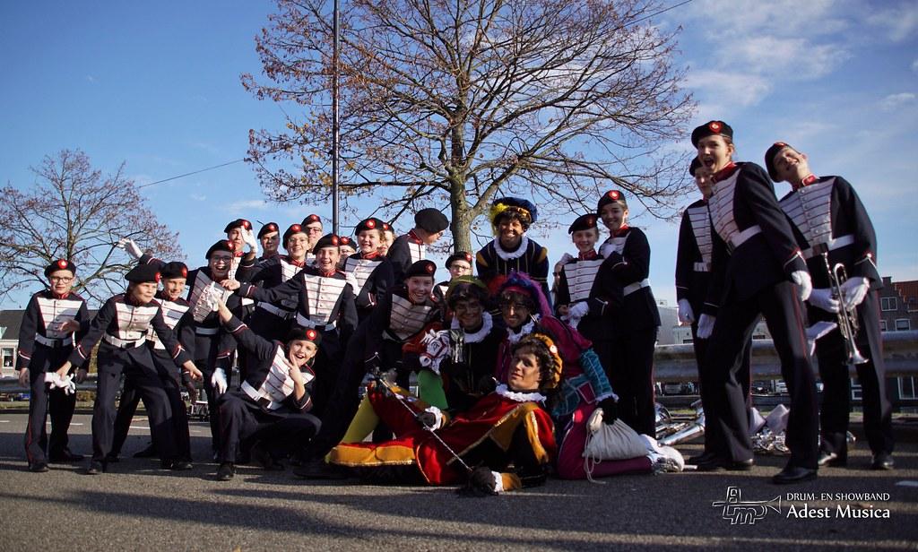 20191117 - Sinterklaas Haarlem Jeugdband
