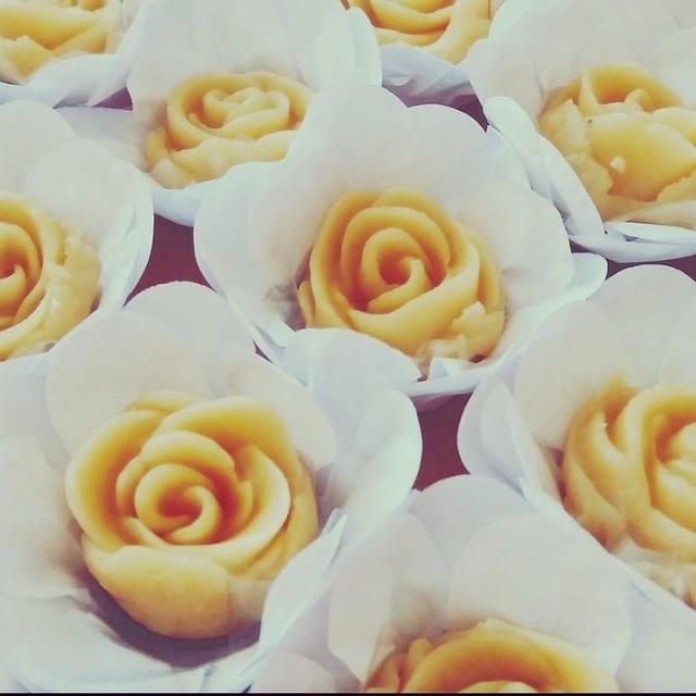 rosa de marzipan @veravilleladoces