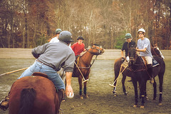 Polo Practice at Soldier Hill