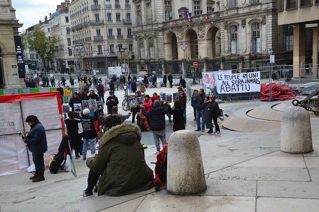 chileans meeting against violences