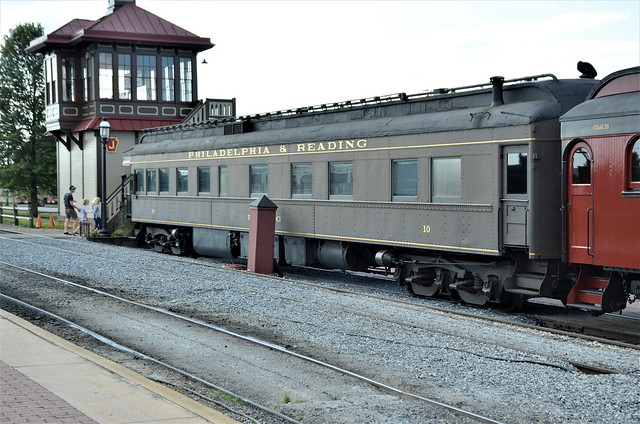 Philadelphia & Reading Railroad No. 10; Strasburg Rail Road, Pennsylvania, Strasburg