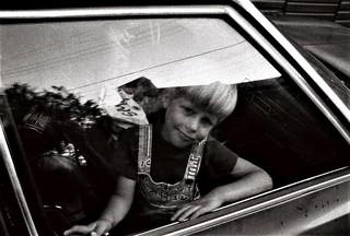 Portrait of a friend's son, 1980, Ellicott City, Maryland