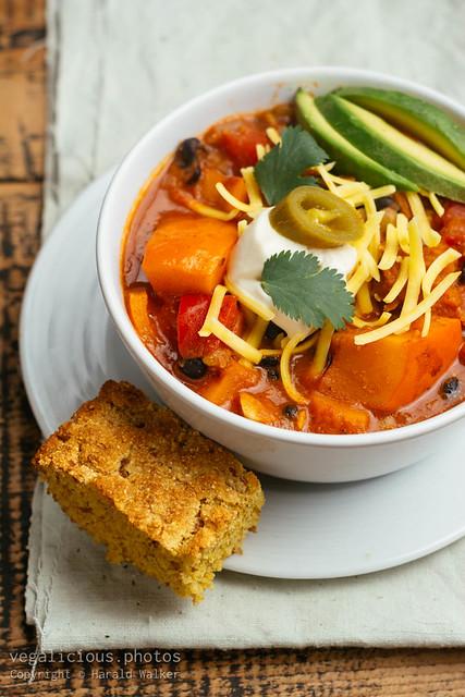 Winter Squash Chili Sin Carne