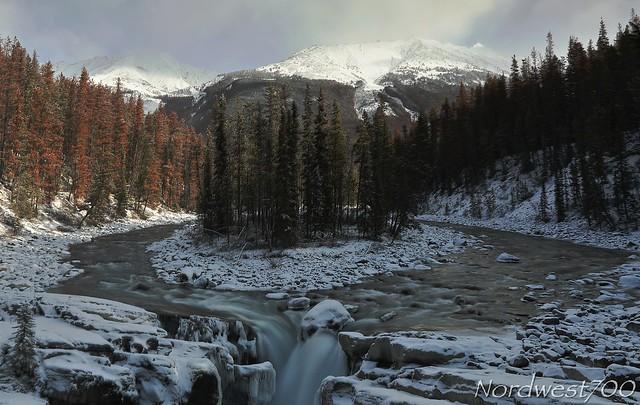 Sunwapta falls. Canada 2019.