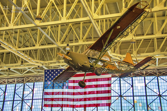 Stinson L-5E Sentinel - Pacific Aviation Museum - Pearl Harbor