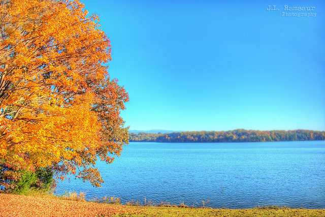 Tellico Lake - Fort Loudoun State Historical Park - Vonore, Tennessee