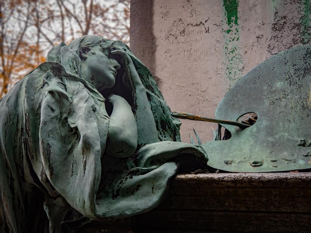 La tombe de Paul Baudry et sa Muse en pleurs... 49080374151_b475239bd8_b