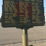 Campbell County Roll of Honor Marker (Pollock, South Dakota)