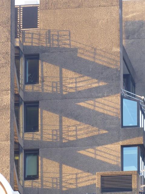 Fire Escape, The Barbican, London