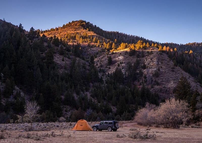 Range Creek Camp