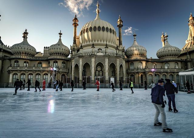Urban ice rink