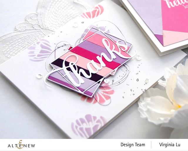 Altenew-GradientCardStock-CrystalFrameDie-FloralGardenStencil-Virginia#2