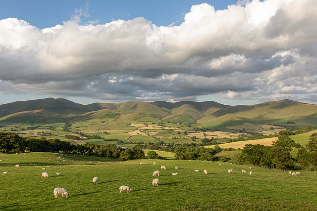 Clouds over the Howgills