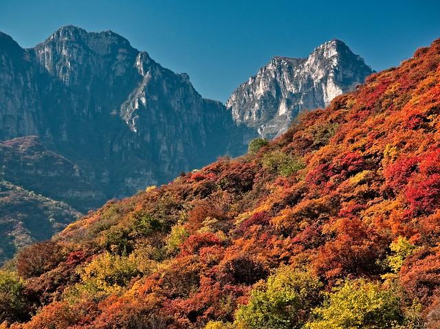 Taihangshan Mountains 太行山