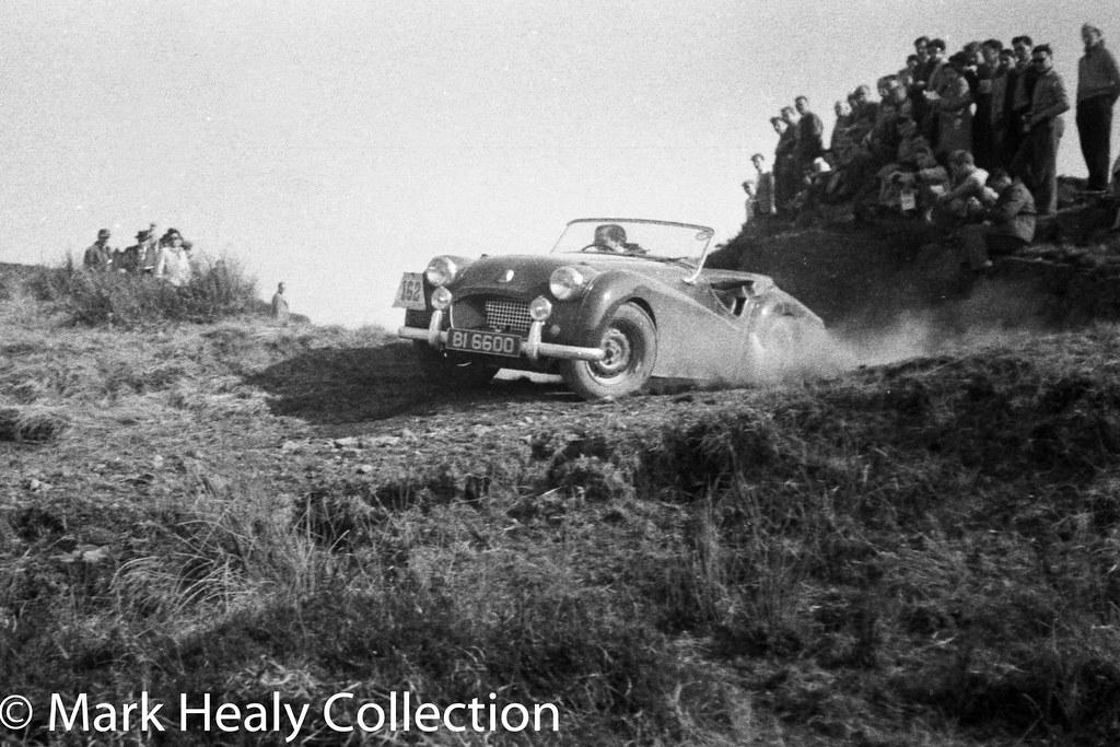 Circuit of Ireland 1956 -Triumph TR2 BI6600