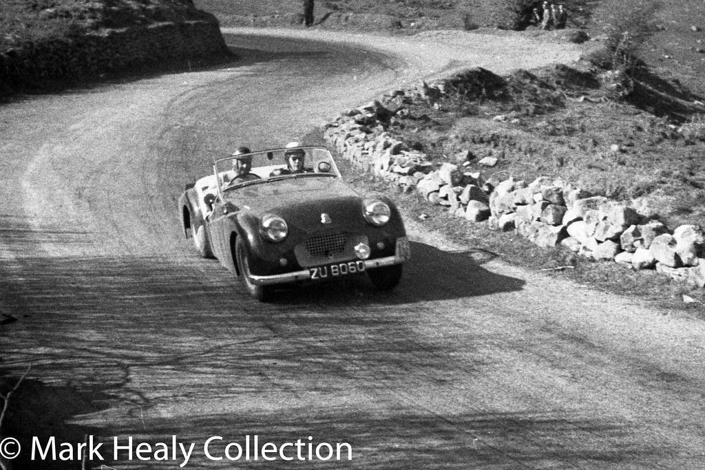 Circuit of Ireland 1956 -Triumph TR2 ZU8060