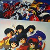 Summary of how my room looked in the 1990s... #anime #90sanime #gundam #charscounterattack #ranma #ranma½ #gatchaman