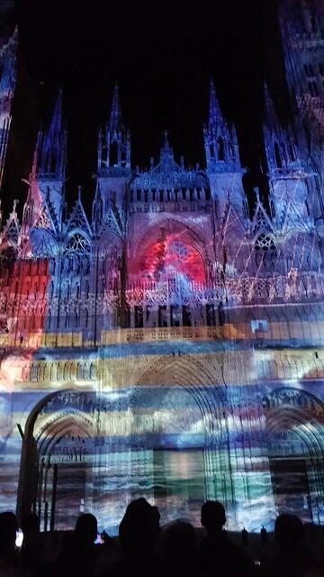 cathedrale de lumière   -Rouen