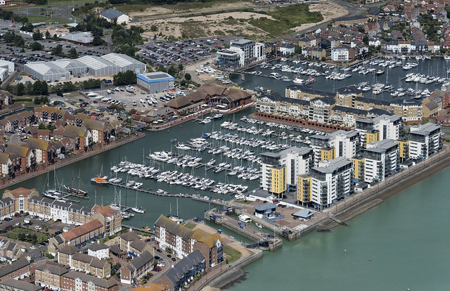 Sovereign Harbour Marina - Eastbourne aerial
