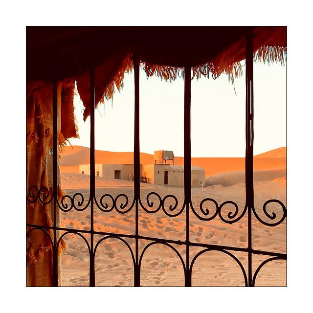 Fenêtre sur dunes