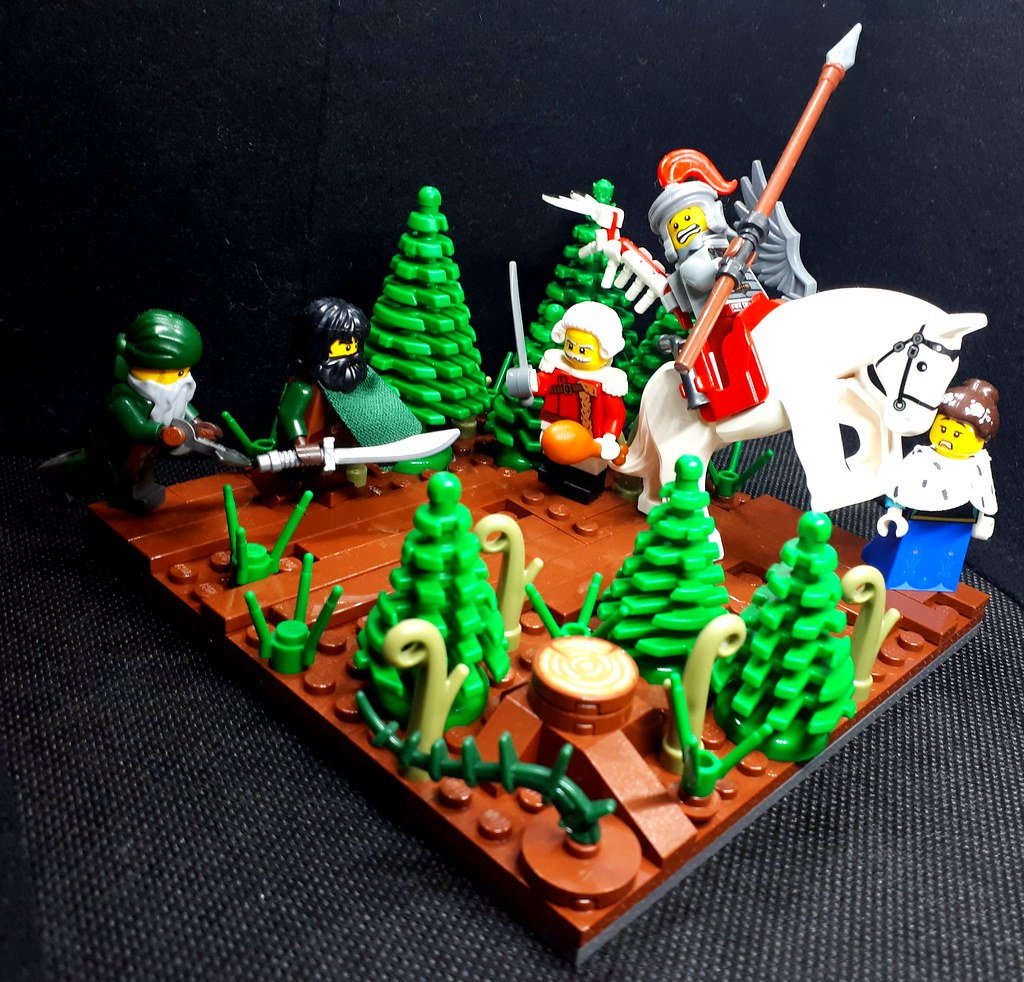 Battle in the forests of the Kalkrein