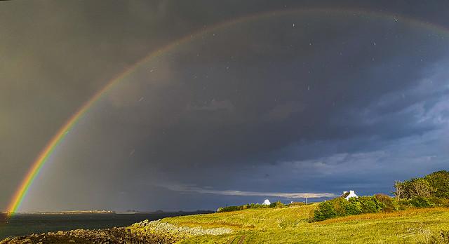 Sous l'arc-en-ciel - Under the rainbow