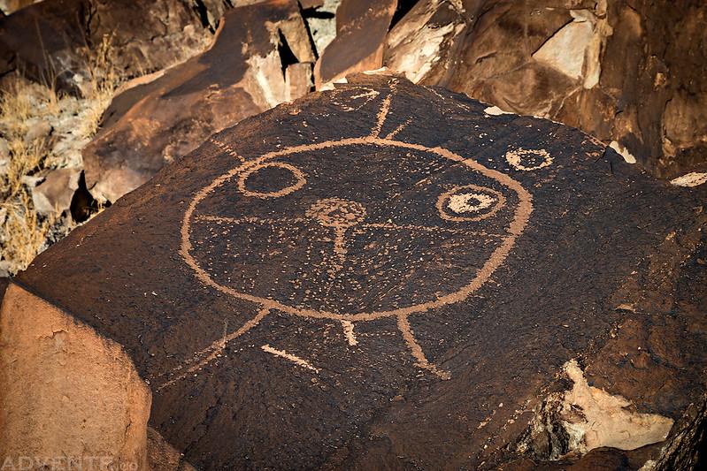 Large Boulder-Top Petroglyph