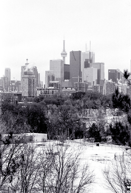 Downtown Toronto, From the Other Side of the Don Valley
