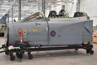 Cockpit of Panavia Tornado GR.1 'ZA356'