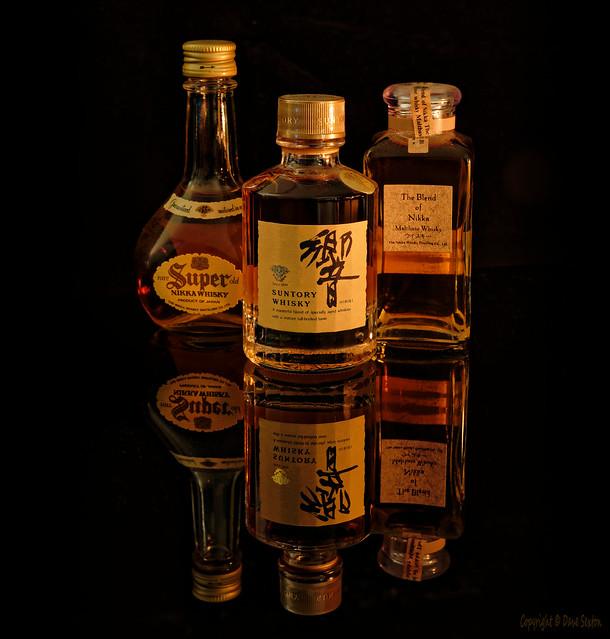 Miniature Whiskey Bottles