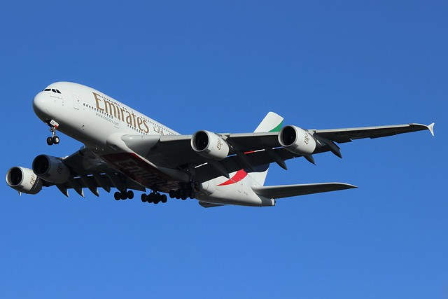 Emirates Airbus A380-800 A6-EEA