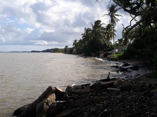 20191026_151605 At the coast of Fajardo beach