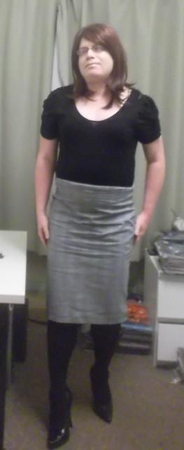 Grey Check skirt mark II
